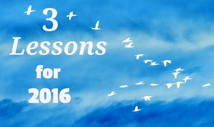 3 Lessons for 2016 pic