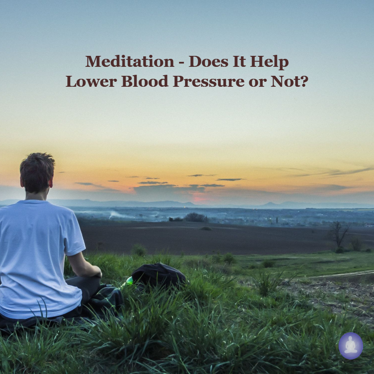 Meditation helps in lower blood pressure