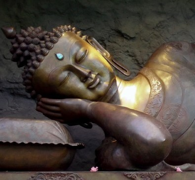 Deep relaxation pic of Buddha