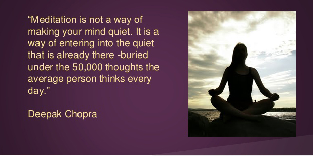 What is Not Meditation